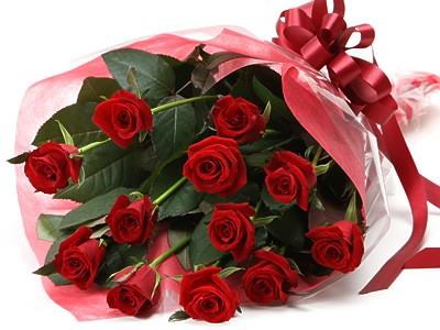 One Dozen Red Roses Bouquet Send To Pampanga Express 12 Red Roses