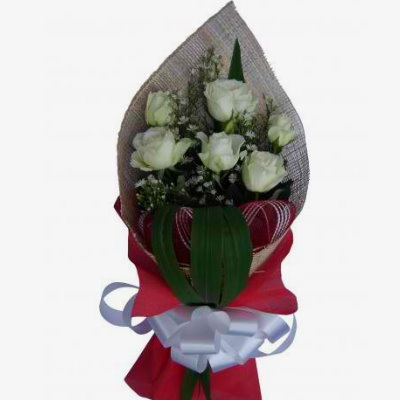 Send six white roses bouquet to pampangadelivery 6pcs white roses send six white roses bouquet to pampangadelivery 6pcs white roses bouquet to pampanga mightylinksfo