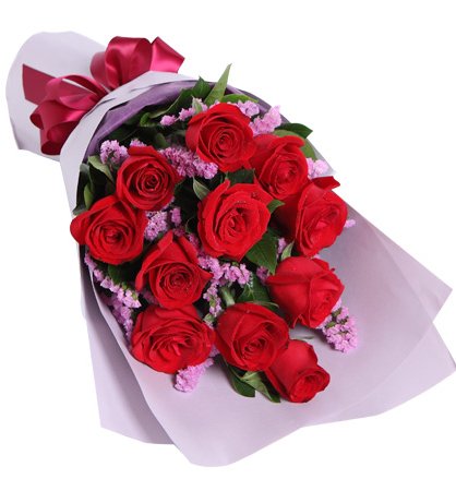 Send 12 Red Roses Bouquet To Pampanga Online 12 Red Roses Bouquet