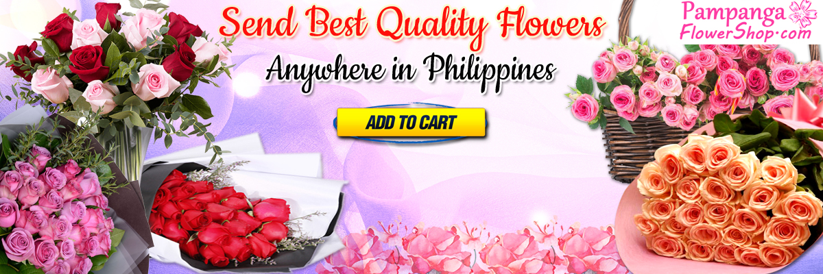 send best flowers to pampanga, philippines