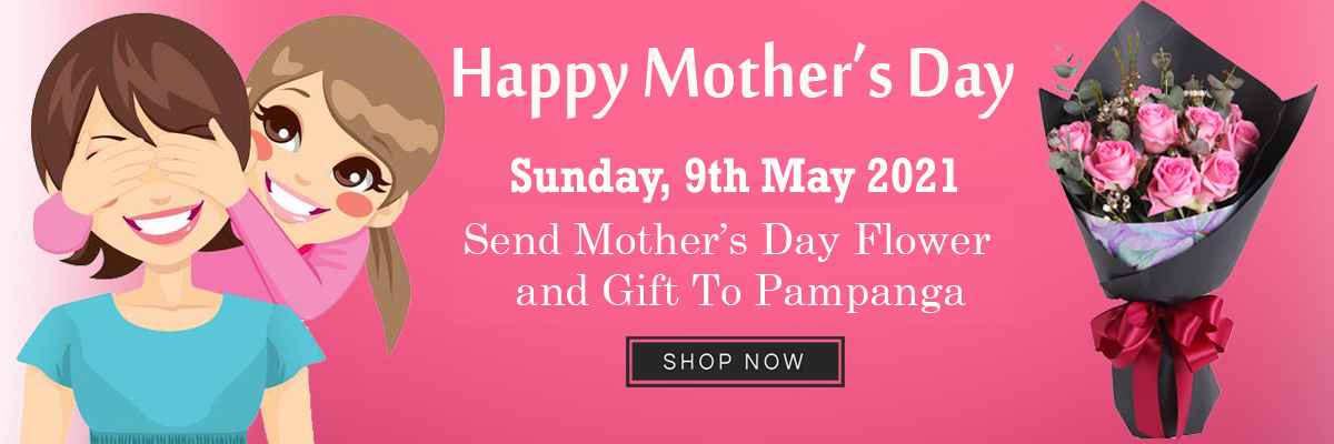 send mother's day flower to pampanga