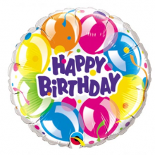 Send 1 pcs Birthday Mylar Balloon to Pampanga