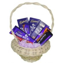 Cadbury Chocolate Lover Basket in Pampanga