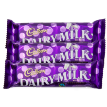 Cadbury Dairy Milk 3 Bars 30g and 15g Each to Pampanga