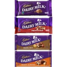Cadbury Dairy Milk 4 Assorted Bars / 75g to Pampanga