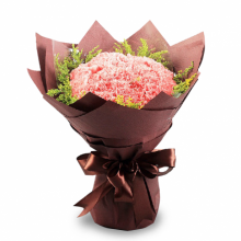 12 Pink Carnations Bouquet Pampanga