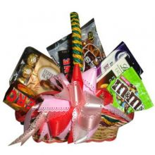 Valentines Chocolate Basket Send to Pampanga