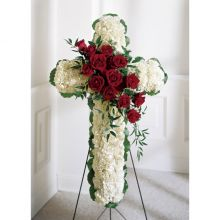 Floral Cross Send to Pampanga