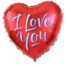 Send 1 pcs I Love You Mylar Balloon to Pampanga