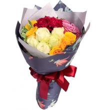 24 Mixed Roses in Bouquet Pampanga