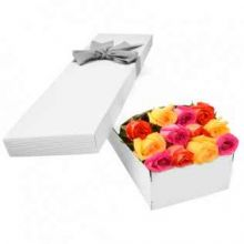 12 Mixed Roses in Box