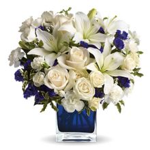 Clear Blue Skies Bouquet Send to Pampanga