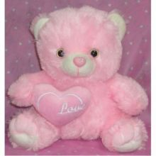 ​Regular Size Pink Teddy Bear with Love Pillow to Pampanga