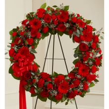 Classic Red Wreath Send to Pampanga