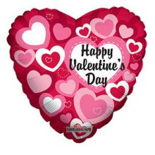Send 1pcs Valentine's Day Mylar Balloon to Pampanga
